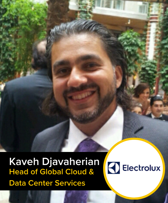 Kaveh Djavaherian | Head of Gloval Cloud & Data Center Services |Electrolux
